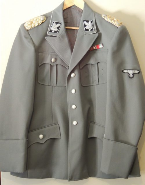 3rd Reich SS General Grey Tunic