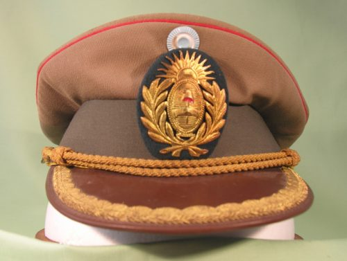 Argentina Army Officer