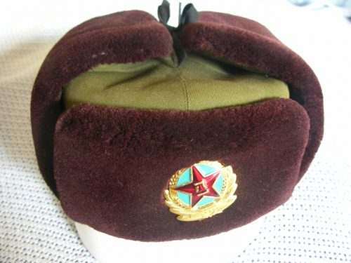 China Army Officer Ushanka