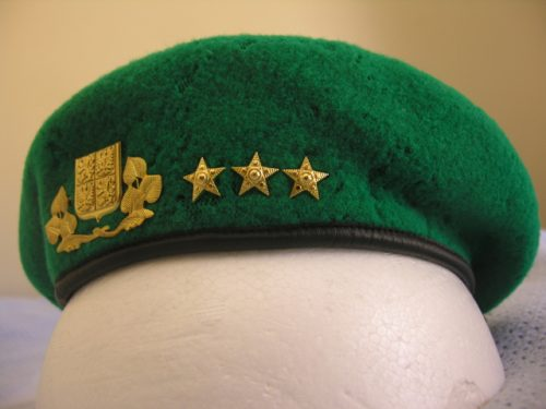 Czech Republic Army General Beret