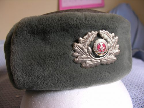 East Germany Army Officer Ushanka