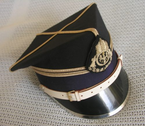 Poland Fire Service Senior Officer Rogatywka