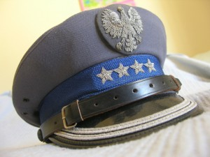 Poland Police Officer Sen Colonel