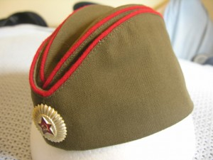 Soviet Army Officer Side Cap 004