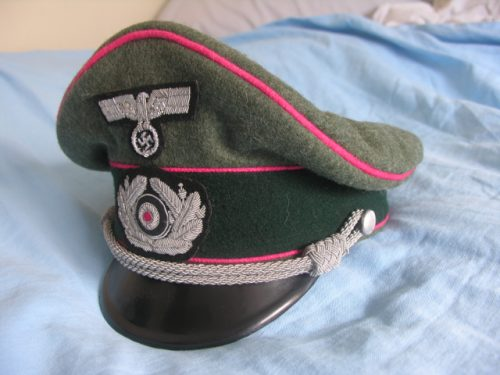3rd Reich Army Officer Panzer