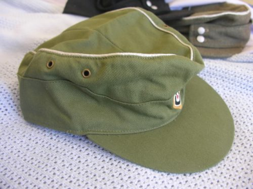 3rd Reich Army Officer Field Cap Tropical