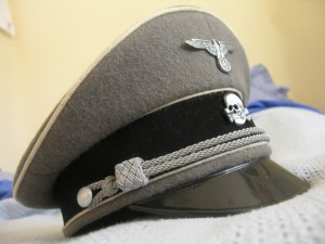 Third Reich SS Officer Stone Grey