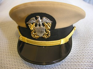US Navy Officer Khaki Cover 003