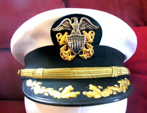 US Navy Senior Officer