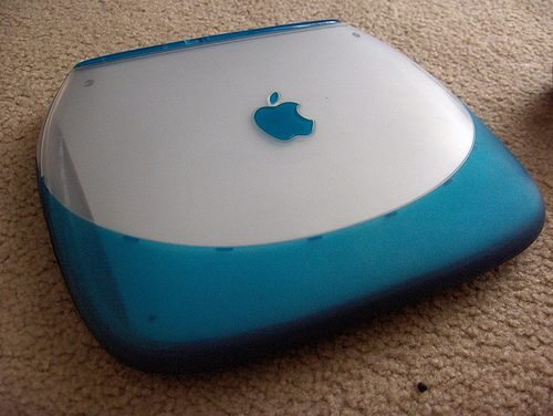 iBook Clamshell Blue