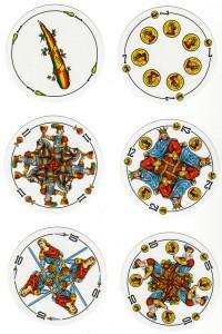Castillian Pattern Round