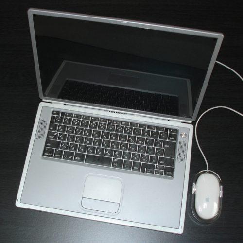 Apple PowerBook G4 Titanium 15.2inch