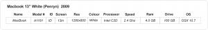 macbook white 2.4b
