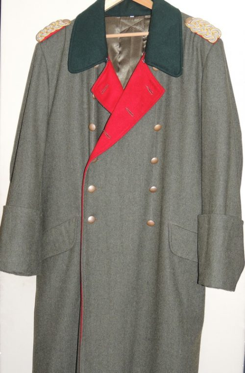 3rd Reich General Overcoat