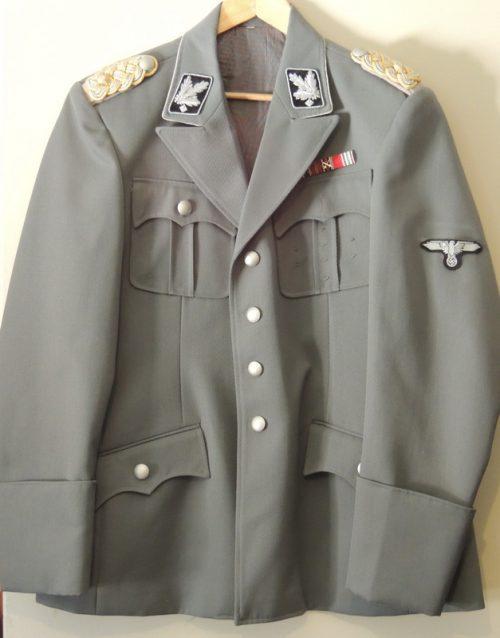 3rd Reich SS General Grey Tunic