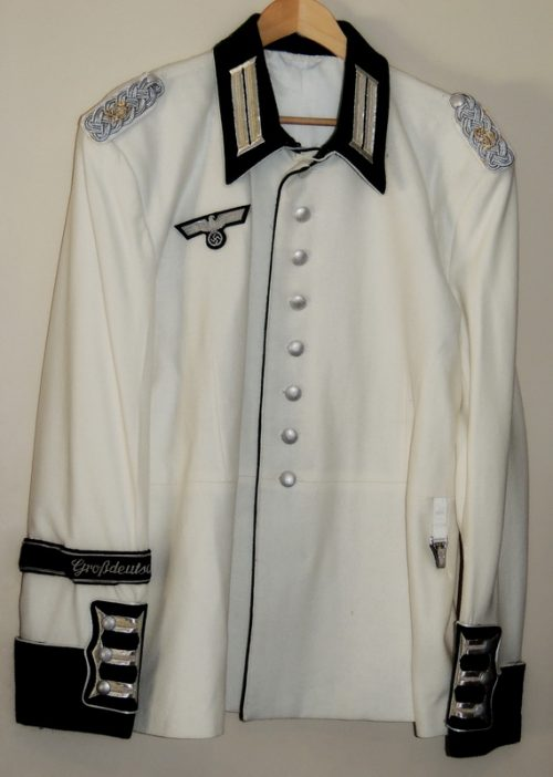 3rd Reich Army Officer Waffenrock New Style White