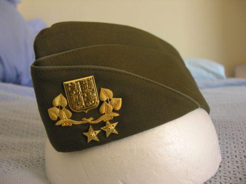 Czech Republic Army General Garrison Cap