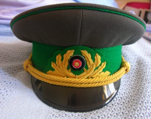 East Germany Army General Border Guards Old