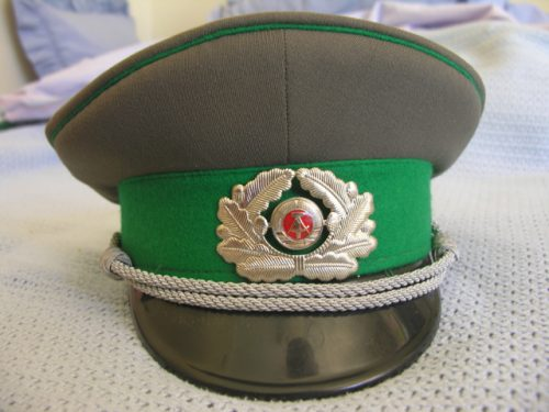 East Germany Army Officer Border Guards