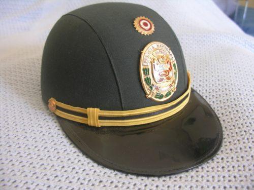 Peru Police Helmet Cap Officer Female