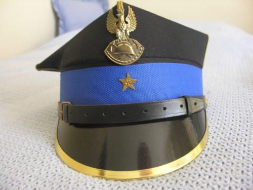 Poland Fire Service Officer Rogatywka