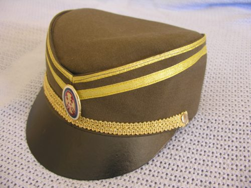 Serbia Army Officer Service Cap