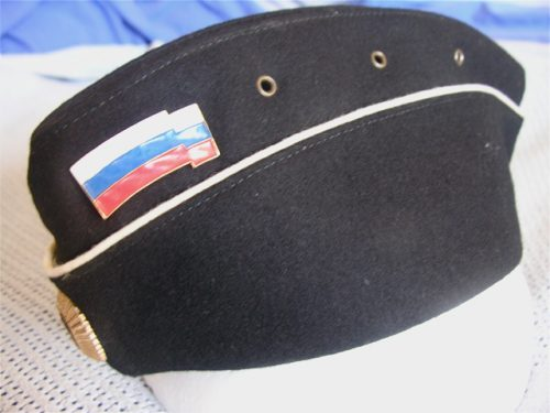 Russia Navy Officer Garrison Cap