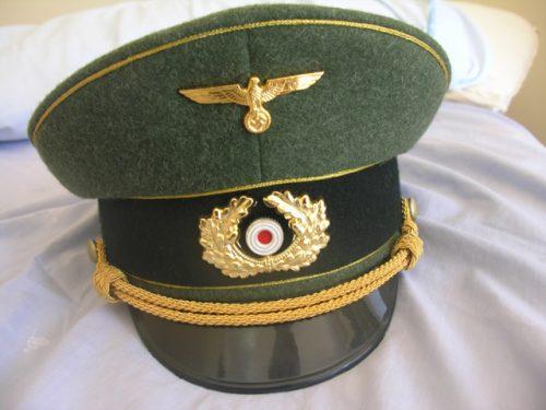 3rd Reich Army General Metal