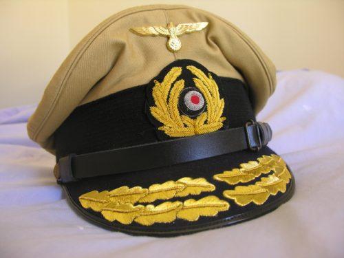 3rd Reich Navy Admiral Khaki