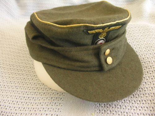 3rd Reich Army General Field Cap M43 Wool
