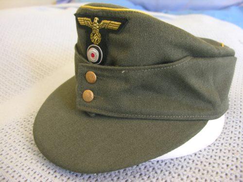 3rd Reich Army General Field Cap M43 Twill