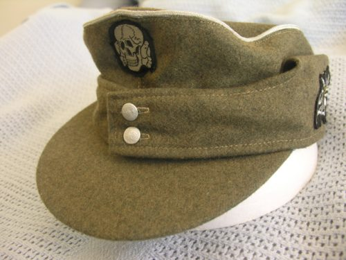 3rd Reich Waffen-SS Officer Field Cap M43