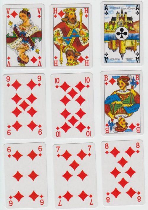 Forest Poker Blue
