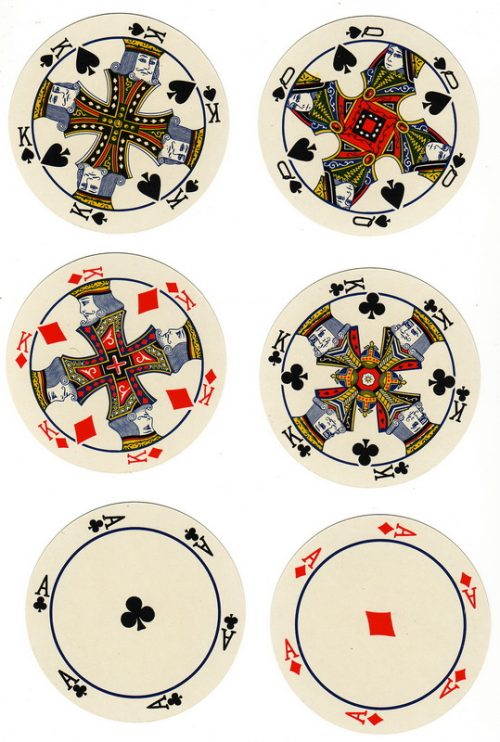 Round Playing Cards